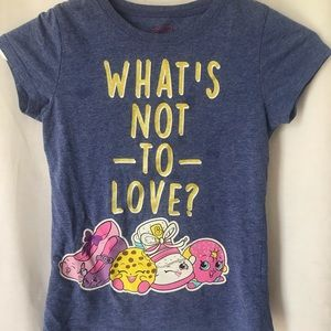 Shopkins girls shirt 7/8
